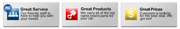 CARQUEST VALUES